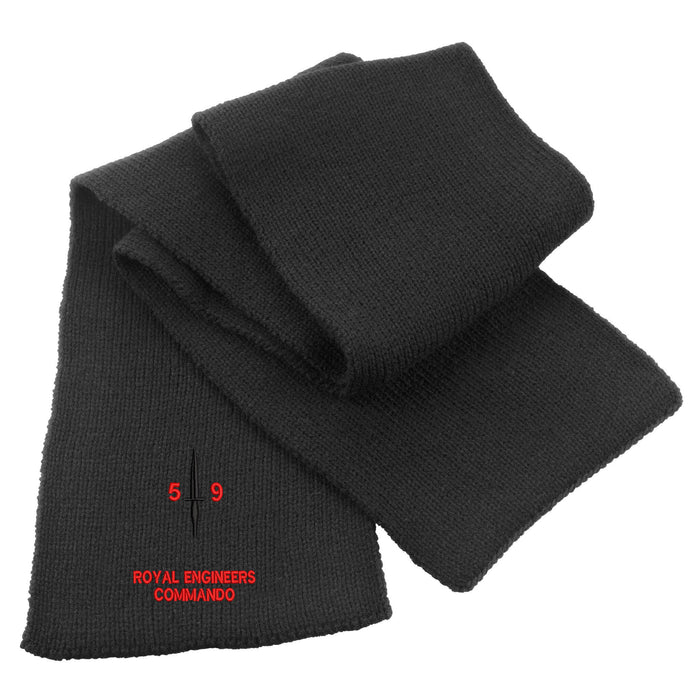 Royal Engineers 59 Commando Heavy Knit Scarf