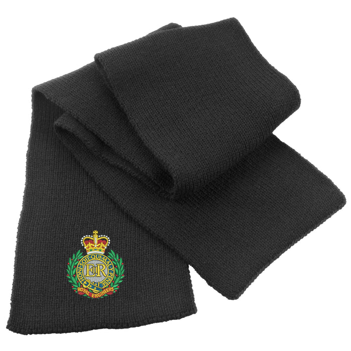 Royal Engineers Heavy Knit Scarf