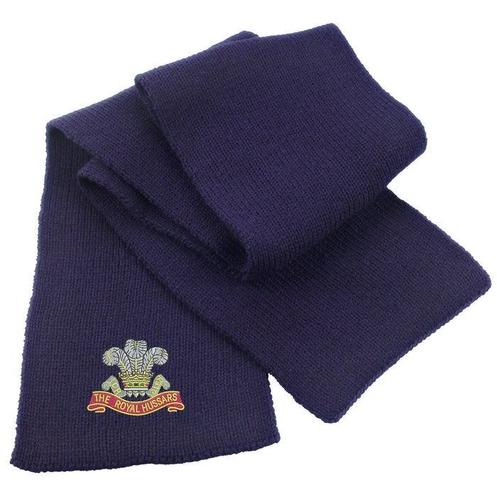 Royal Hussars Heavy Knit Scarf