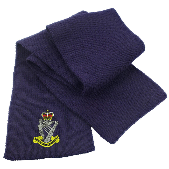 Royal Irish Rangers Heavy Knit Scarf
