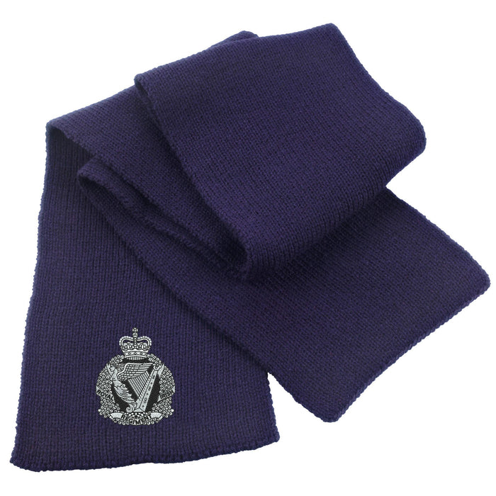 Royal Irish Regiment Heavy Knit Scarf