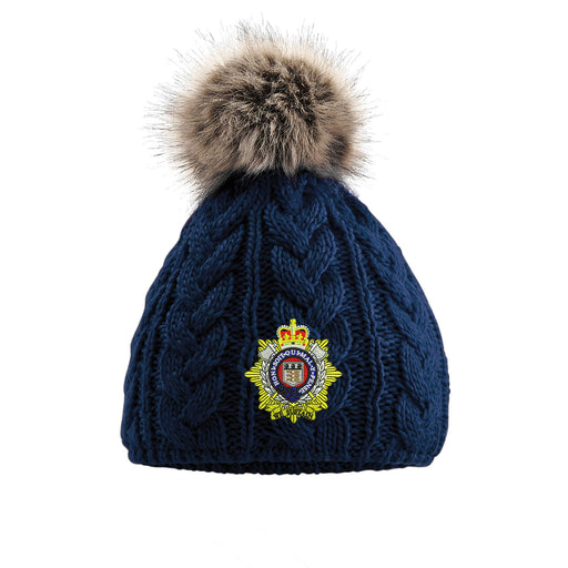 Royal Logistic Corps Pom Pom Beanie Hat