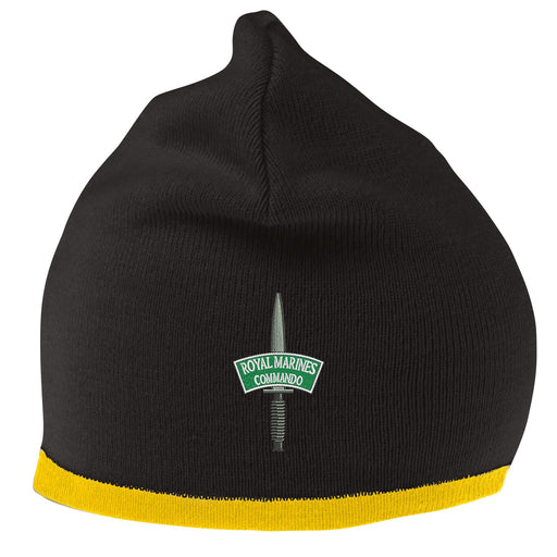 932098714d0 ROYAL MARINES CORPS COLOURS MACHINE KNITTED BEANIE