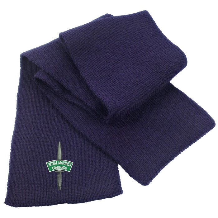 Royal Marines Commando Heavy Knit Scarf