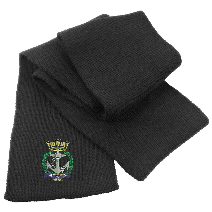 Royal Naval Association Heavy Knit Scarf