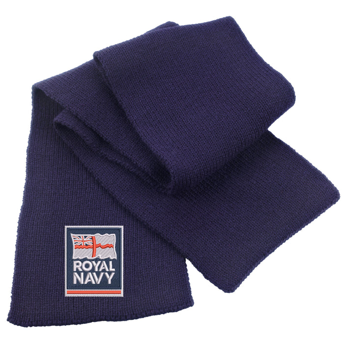 Royal Navy Heavy Knit Scarf