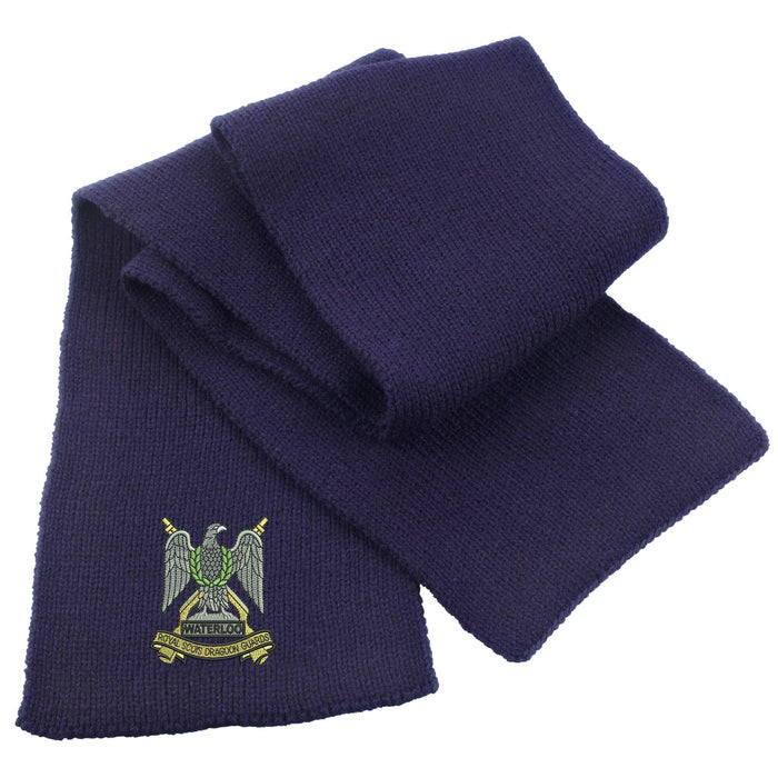 Royal Scots Dragoon Guards Heavy Knit Scarf