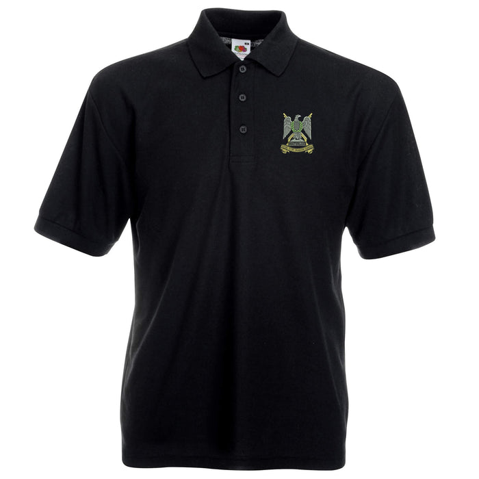 Royal Scots Dragoon Guards Polo Shirt Embroidered Logo Scots