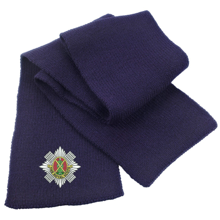 Royal Scots Heavy Knit Scarf