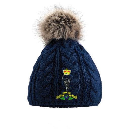 Royal Scots Pom Pom Beanie Hat