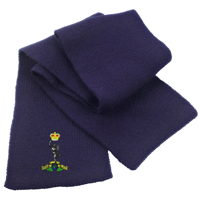 Royal Signals Heavy Knit Scarf
