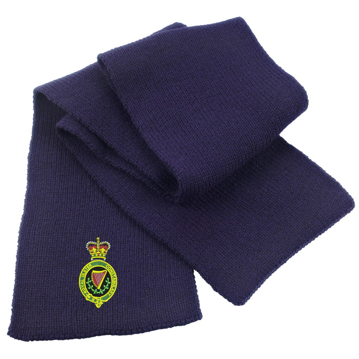 Royal Ulster Constabulary Heavy Knit Scarf