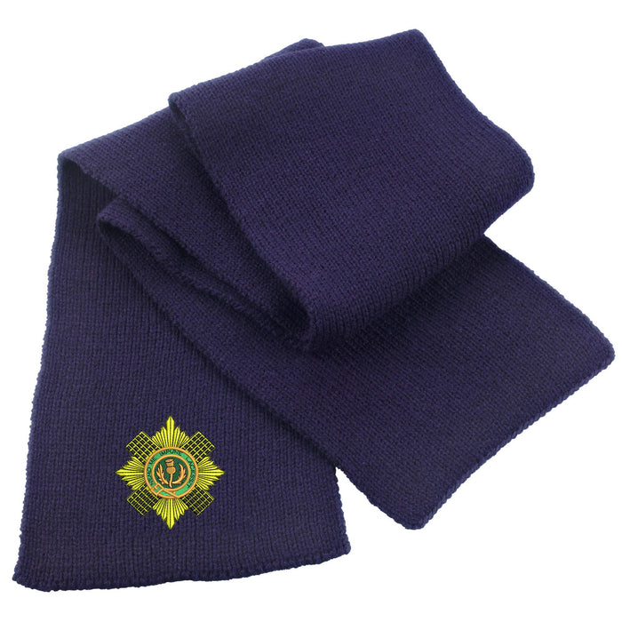 Scots Guards Heavy Knit Scarf