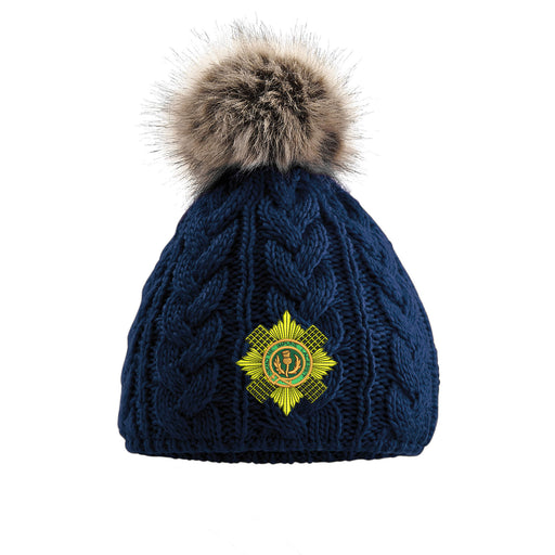 Scots Guards Pom Pom Beanie Hat
