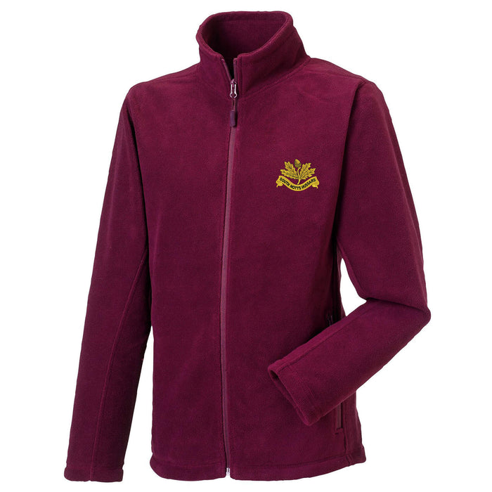 South Nottinghamshire Hussars Fleece