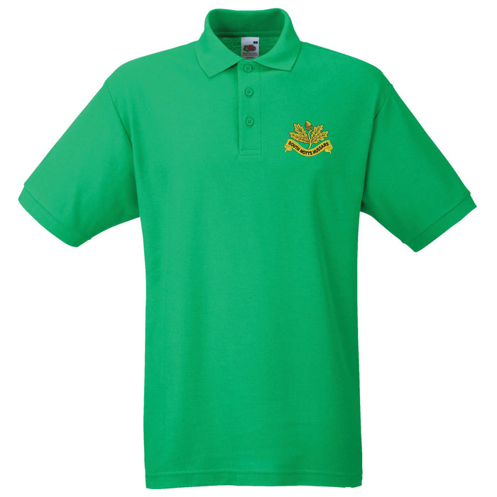 South Nottinghamshire Hussars Polo Shirt