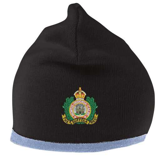 Suffolk Regiment Beanie Hat