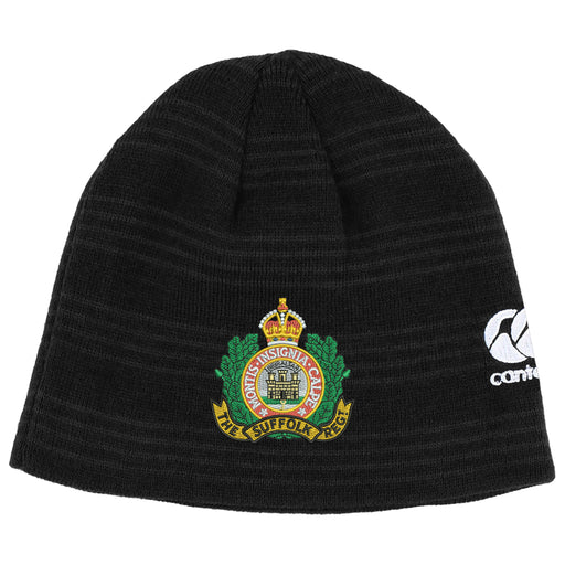 Suffolk Regiment Canterbury Beanie Hat