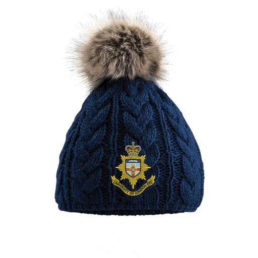 University of London OTC (UOTC) Pom Pom Beanie Hat