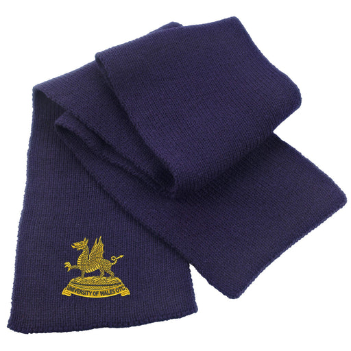 Wales Universities Officers Training Corps Heavy Knit Scarf
