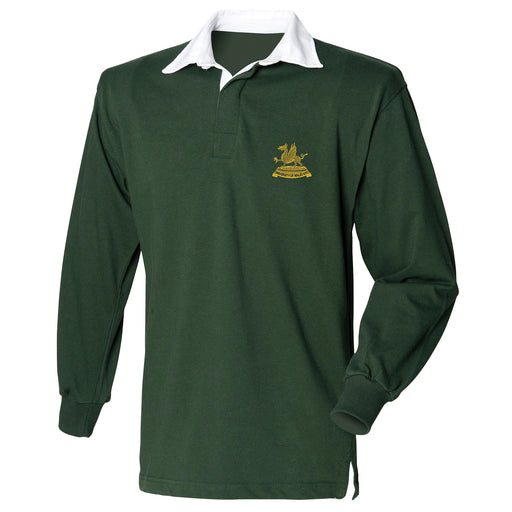 Wales Universities Officers Training Corps Long Sleeve Rugby Shirt