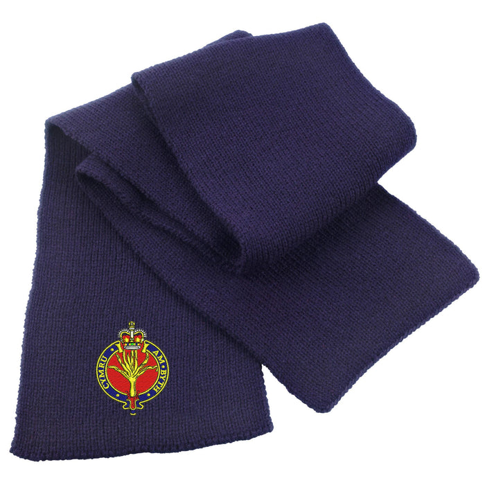 Welsh Guards Heavy Knit Scarf