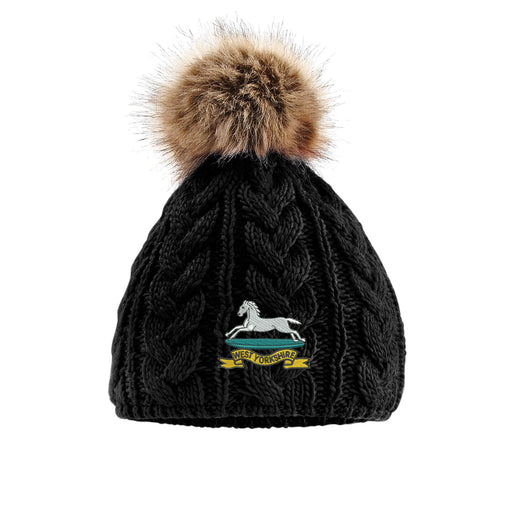 West Yorkshire Pom Pom Beanie Hat