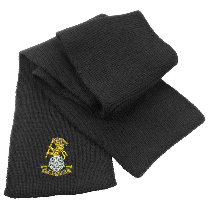 Yorkshire Regiment Heavy Knit Scarf