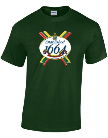 Est 1664 Colours T-Shirt - Royal Marines 350