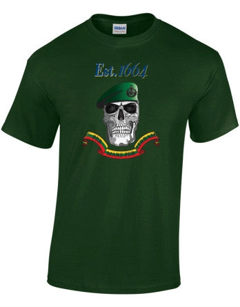 Green Beret Colours T-Shirt - Royal Marines 1664
