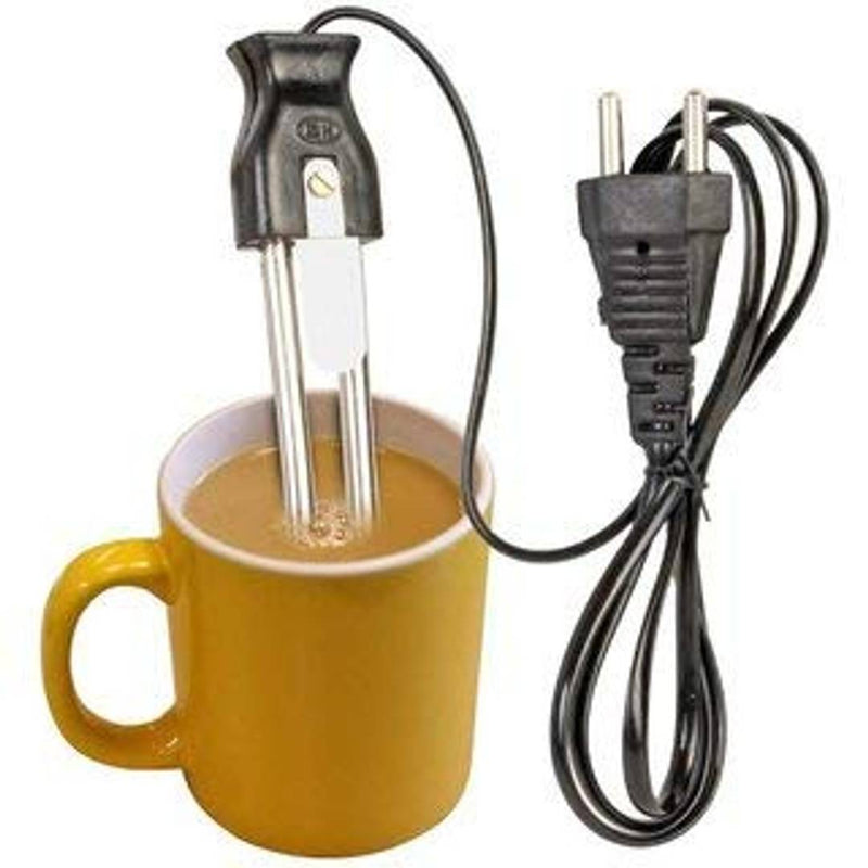 Electric Mini Small Coffee/Tea/Soup/Water/Milk Heater Boiler Immersion Rod 350W Pack Of 2
