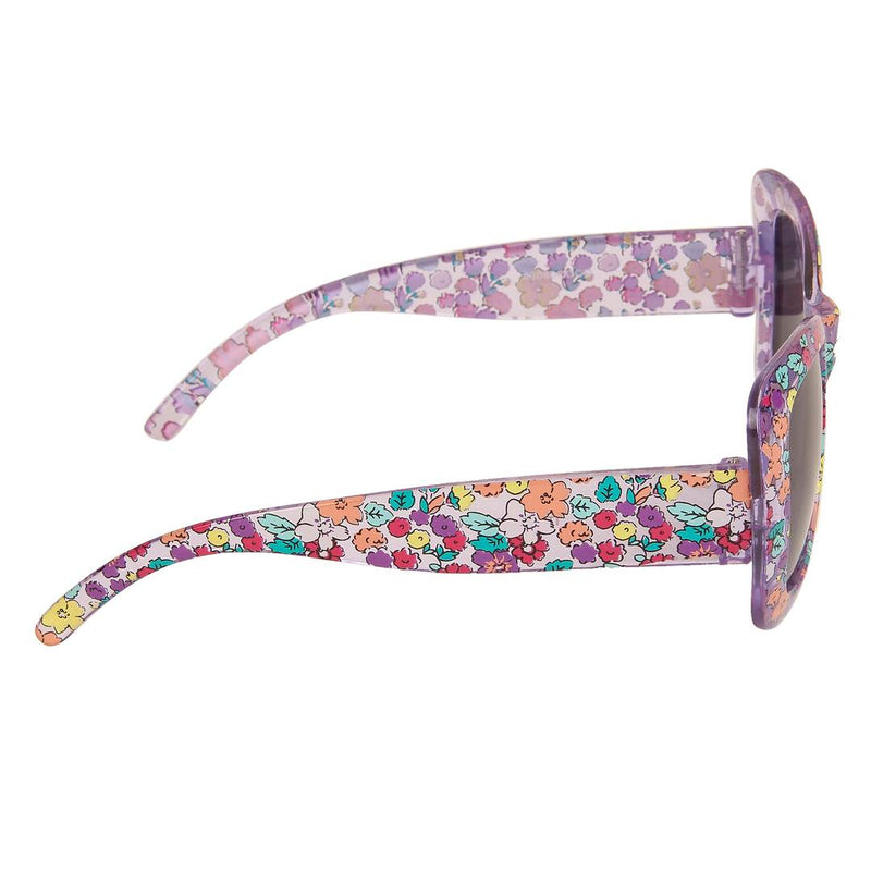 Purple Cat-Eye Full Rim UV Protected Sunglasses for Girls