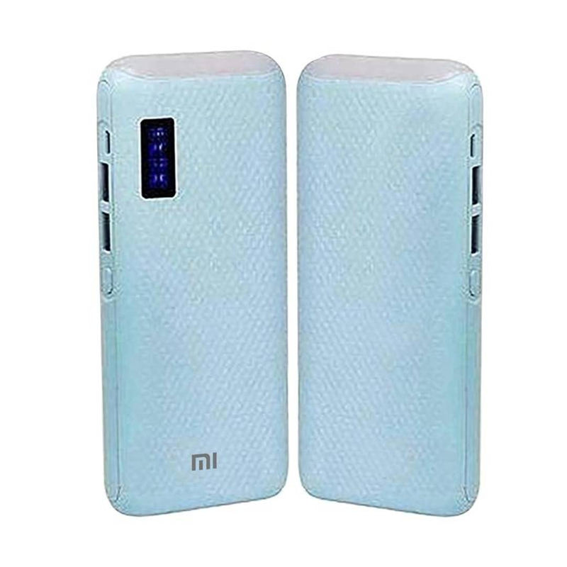 Portable 10000mAh Power Bank For All Smartphones 2 Output Power Bank (Blue) - 1 Unit