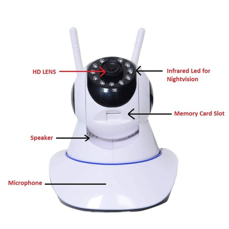 Mini Full HD Spy Hidden Wireless CCTV IP Camera For Home ,Office Spy Camera Security Camera