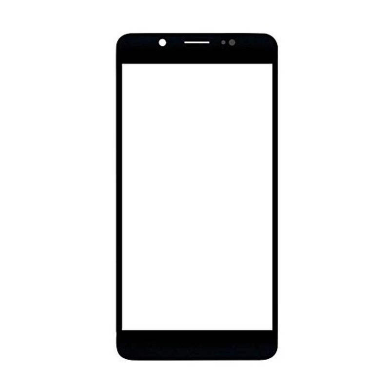 Premium Front Screen Outer Touch Glass Cover Panel Lens for VIVO V7 (Black