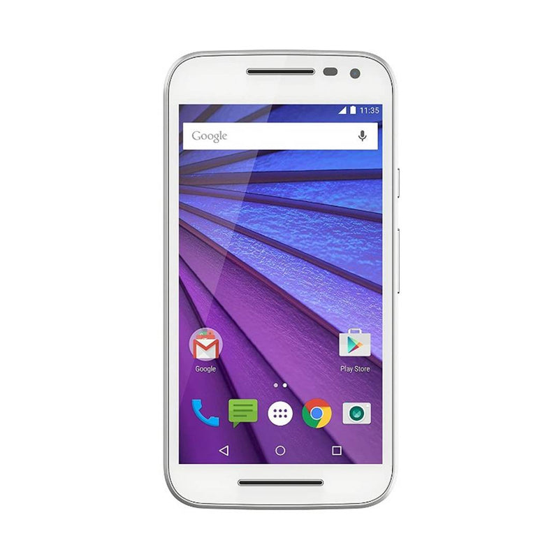 Moto G3 16GB ROM 2GB RAM White Refurbished