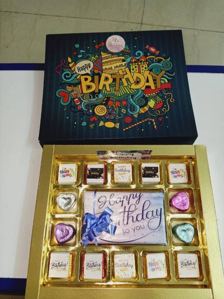 Happy Birthday Chocolates Gift Box