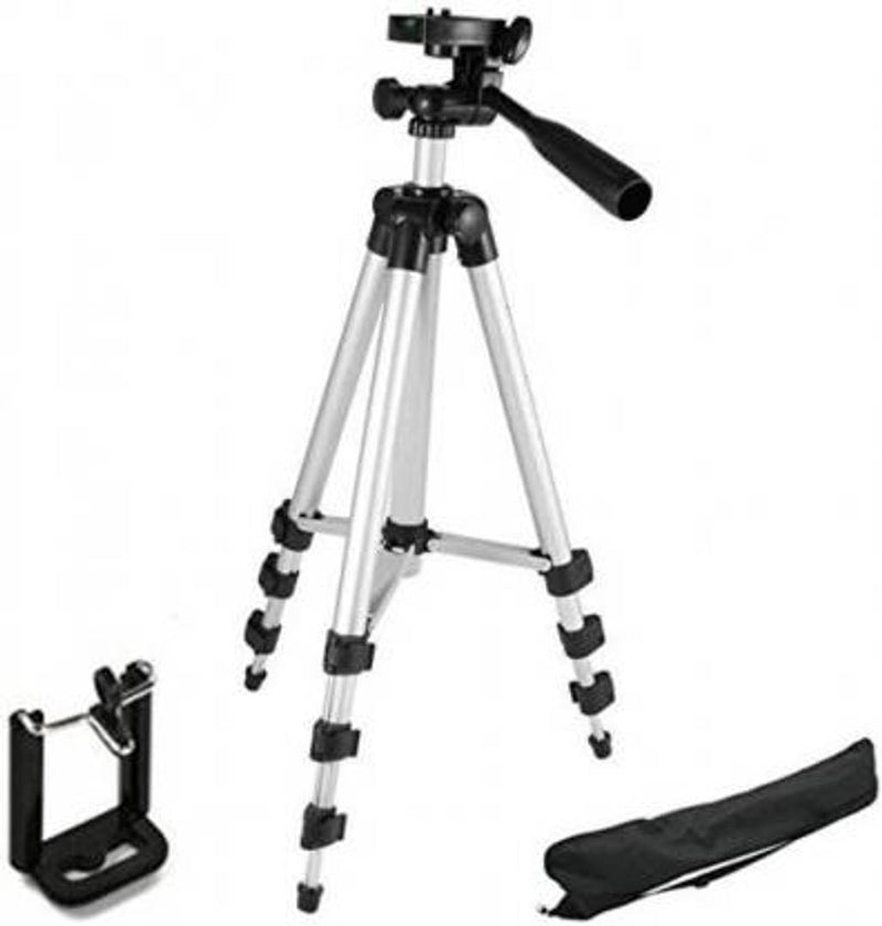 Acromax 3110 Portable tripod Compatiable with all smart phone And camera