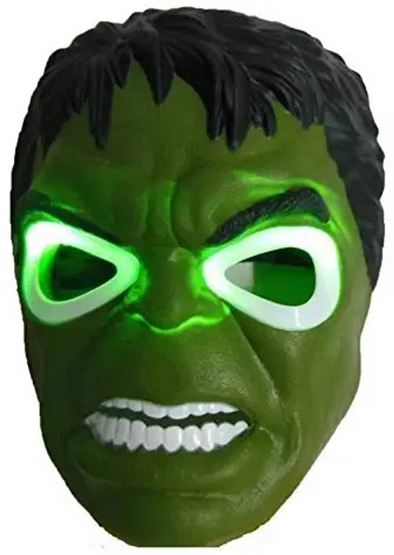 Creative Hulk Mask With LED Light Toy For Kids
