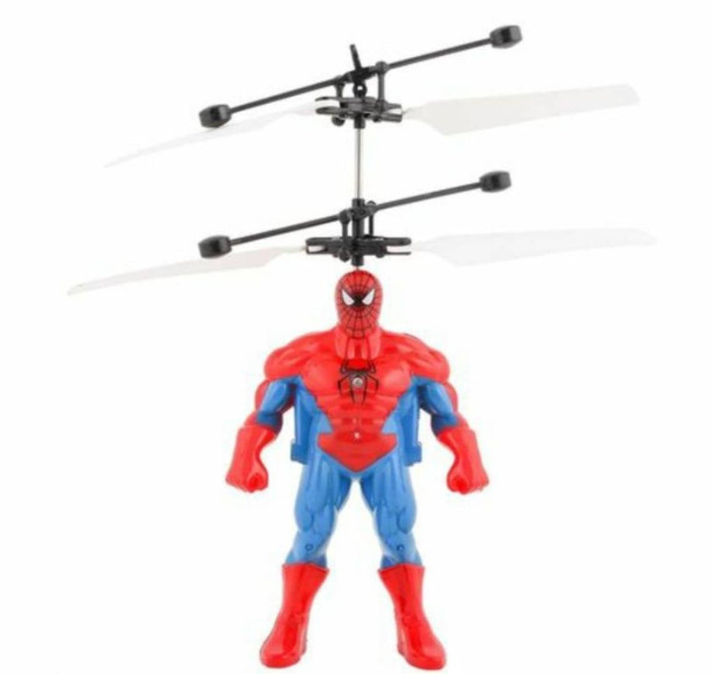 Spiderman Flying Hand sensor red color kids toys