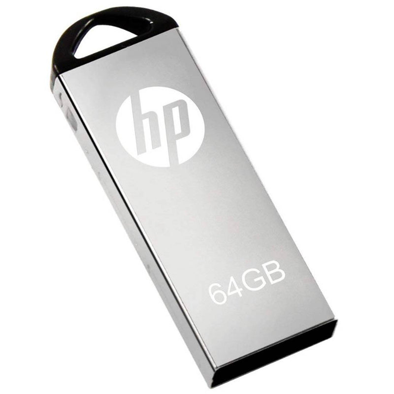 HP V220W Metal USB 2.0 Pendrive (64 GB)