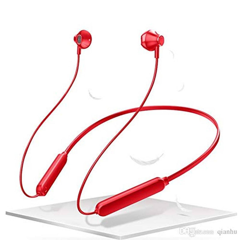 Cloud Cl-A10 Neckband Bluetooth Headset (Red, In The Ear)