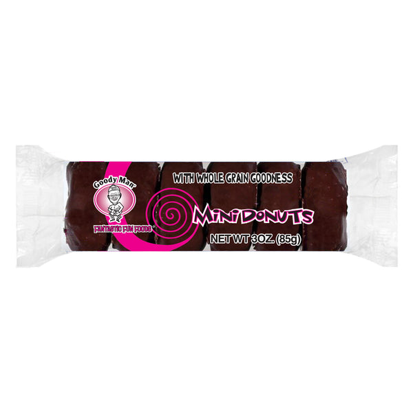 Goodyman® 6pk Mini Donuts- Chocolate Covered  72 count