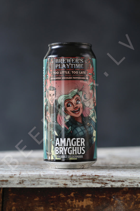AMAGER - Too Little, Too Late