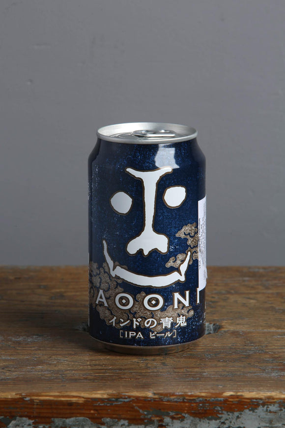 Japanese craft beer, Aooni IPA. Buy now in Riga.