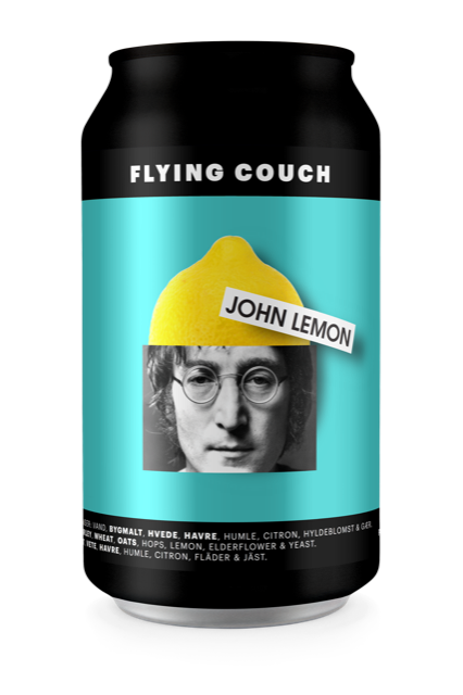 FLYING COUCH - John Lemon