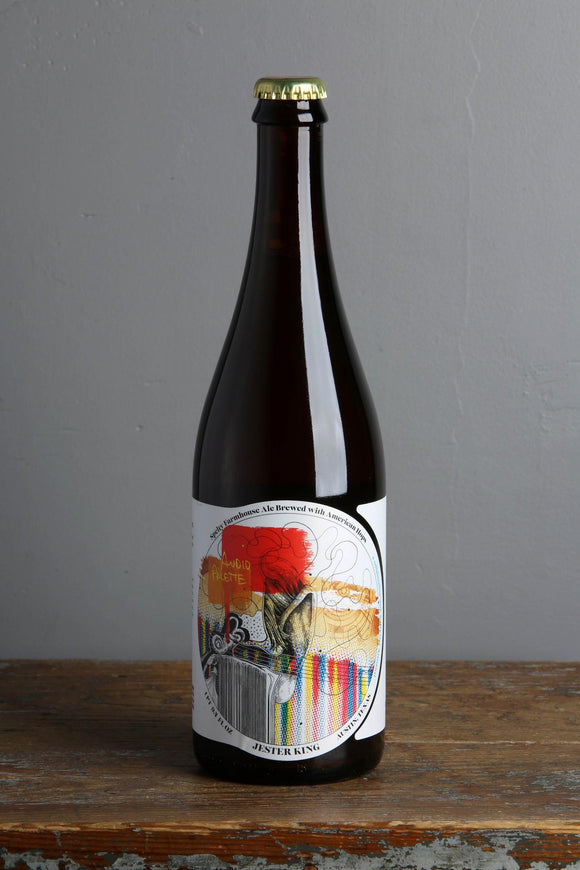 Audio Palette is a Farmhouse Saison belgian style beer from the USA