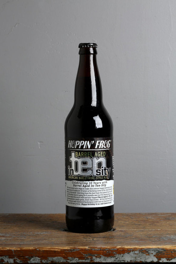 A 12% barrel-aged Barleywine from the USA, available from Beerfox craft beers, Riga