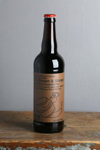 Brown Ale aged in whisky barrels by Pipeworks craft beers