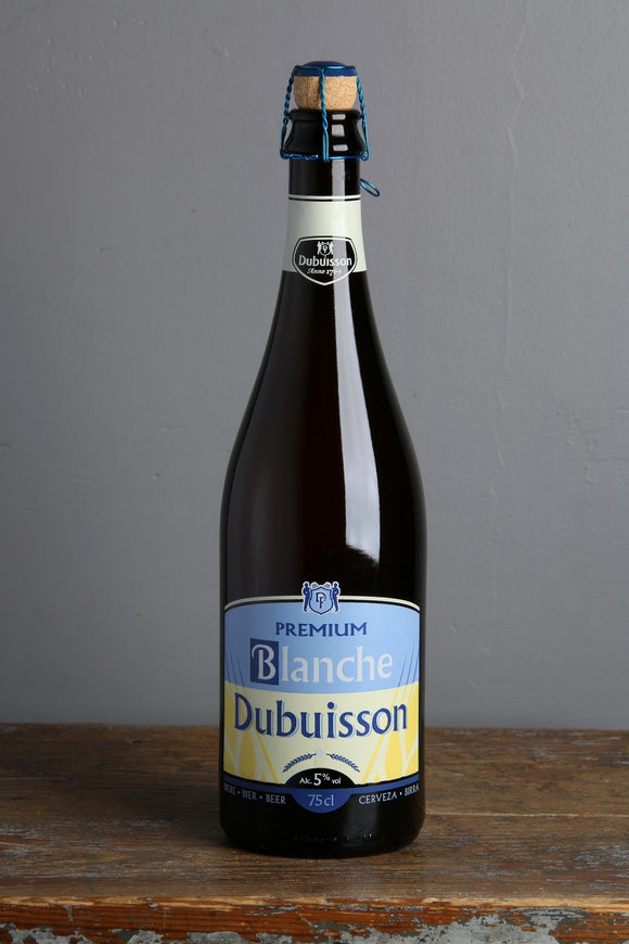 Wheat Beer from Dubuisson Belgian brewery